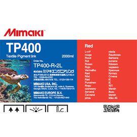 Чернила Mimaki TP400 Red 2000 мл, Цвет: Red, Объем: 2000 мл