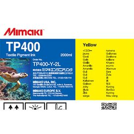Чернила Mimaki TP400 Yellow 2000 мл, Цвет: Yellow, Объем: 2000 мл
