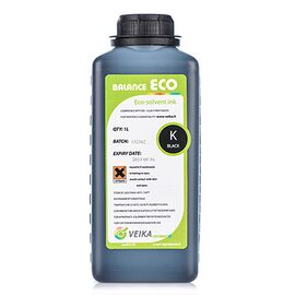 Чернила VEIKA Balance Eco Fast Black 1000 мл Бутылка