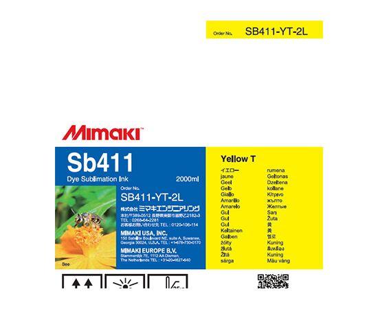Чернила Mimaki SB411 Yellow 2000 мл