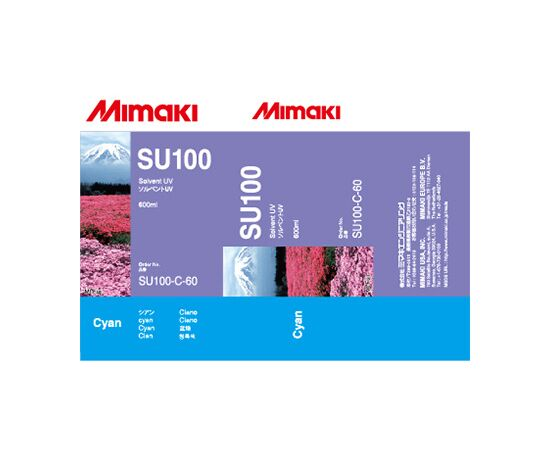 УФ чернила Mimaki SU100 Cyan 600 мл
