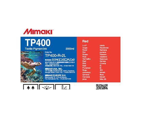 Текстильные пигментные чернила Mimaki TP400 LightBlack 2000 мл, Цвет: Red, Объем: 2000 мл