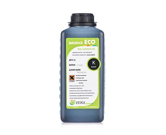 Чернила экосольвентные Veika Balance Eco Fast Black Бутылка 1000 мл
