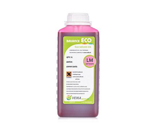 Чернила экосольвентные Veika Balance Eco Fast LightMagenta Бутылка 1000 мл